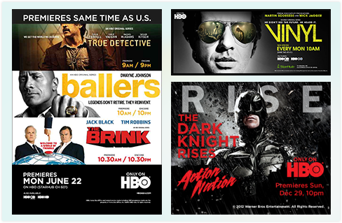HBO | Rich Media Banners